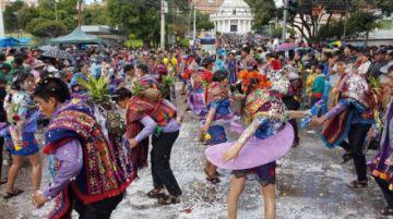 Carnaval: Se suspenden los festejos y el consumo y venta de bebidas alcohólicas en Sucre