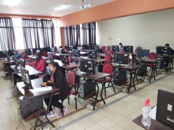 Se cierra el primer examen de los cursos preuniversitarios de la USFX