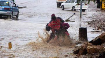 Emiten alerta roja hidrológica ante probable desborde de ríos y notifican a cinco departamentos