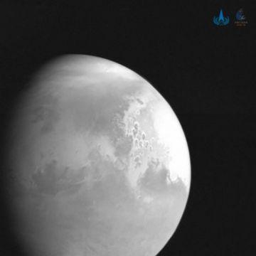 """Sonda china """"Tianwen-1"""" se inserta en la órbita marciana"""