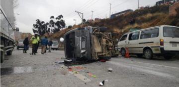 Fallecen diez personas y quedan más de 50 heridas en accidentes de tránsito