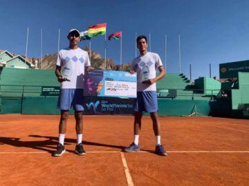 Tres bolivianos participarán en el Challenger de Concepción