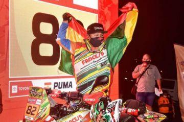 """Un chuquisaqueño corre el """"Dakar Sudamericano"""" en tierras argentinas"""
