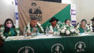 MTS inscribe a Juana Maldonado como candidata a la Alcaldía de Sucre
