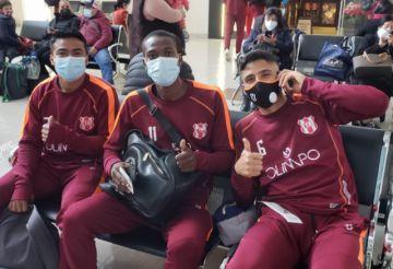 Inde encara cuadrangular de preparación en Cochabamba
