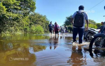Más de 2.500 familias damnificadas en Beni por el desborde de cuatro ríos