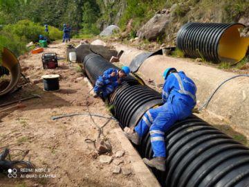 Derrumbes afectan al canal Ravelo; Elapas repara averías y restablecerá servicio en unas horas