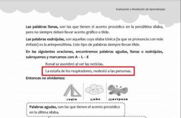 Gobierno incluye frase sobre Caso Respiradores en textos escolares de primaria