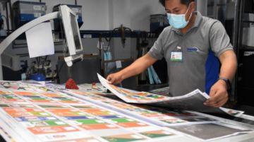 Subnacionales: Más de 14 millones de papeletas se imprimen en Sucre y La Paz