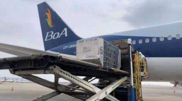 Avión con vacunas Sinopharm parte de España; aterrizará este miércoles en Santa Cruz