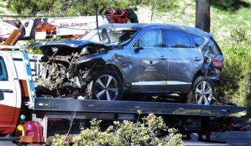 """Tiger Woods fue """"muy afortunado"""" de sobrevivir al accidente, según policia"""