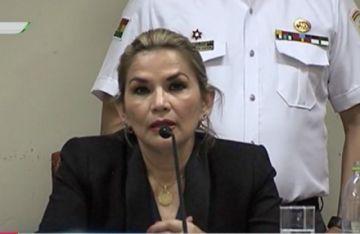 Fiscalía rechaza denuncia contra Áñez y frena trámite de incompetencia