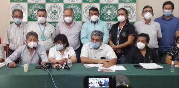 Consejo Nacional de Salud decide continuar en paro por 15 días más