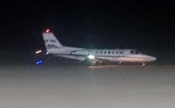 Denuncian que Evo aterrizó en un avión privado en el aeropuerto Juana Azurduy