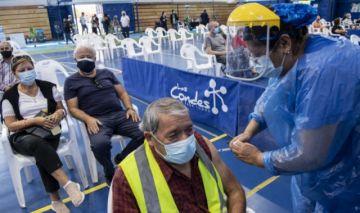 Chile lidera vacunación contra el covid-19 con más de 3,5 millones de inoculados