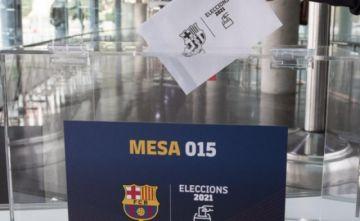 Cierran los centros de votación y empieza el escrutinio en el Barcelona