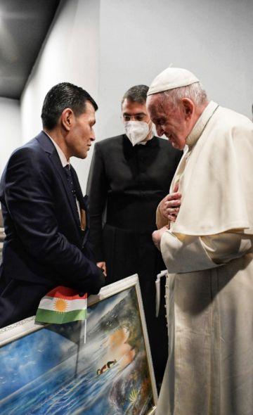 El Papa se entrevistó con el padre del niño sirio ahogado Alan Kurdi