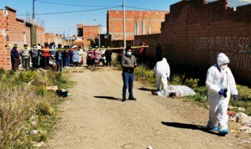 Asesinan a una mujer en El Alto; Policía halla cadáver en vía pública e investiga presunto feminicidio