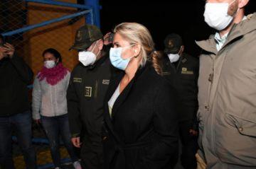 Jeaniñe Áñez aún no salió del recinto carcelario y la Procuraduría busca que la atienda el IDIF