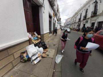 EMAS: Trabajadores flexibilizan paro y recogerán basura desde las 16:00 de este martes