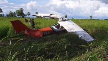 Tras accidente en Sacaba, otra avioneta se precipita en Trinidad