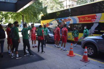 Futbolistas de la Selección Boliviana sufren robo en su hotel de Chile
