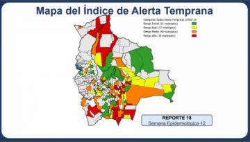 Leve incremento de municipios en riesgo alto de covid-19; Sucre sigue en zona media