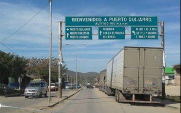 Sedes Santa Cruz anuncia que Bolivia cerrará sus fronteras con Brasil por siete días