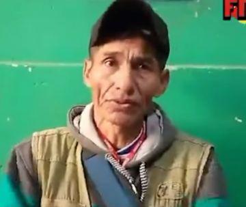 Yungas: Periodista denuncia que transportistas lo ataron y le quitaron sus pertenencias