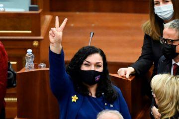 El Parlamento elige como presidenta de Kosovo a la reformista Vjosa Osmani