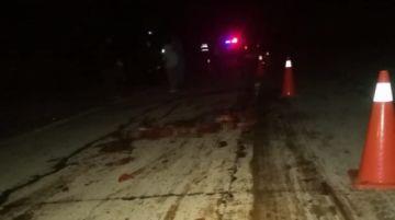 Peatón muere arrollado cerca de Camargo; conductor se dio a la fuga