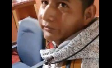 """Edwin Characayo: """"Estaba ahí porque dijeron que querían conocerme"""""""