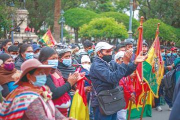 Sucre: Organizaciones vuelven a las calles por la Ley de Elapas