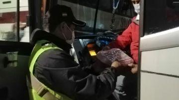 Reportan casos positivos de covid-19 en la Terminal de Buses de Sucre
