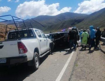 Una mujer y dos niños fallecen en accidente de tránsito en la carretera Potosí-Sucre