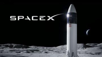 NASA elige SpaceX para su próxima misión lunar tripulada