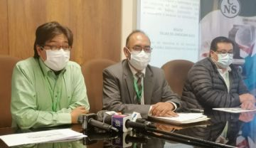 CNS La Paz prevé tercera ola de contagios de covid-19 para mayo