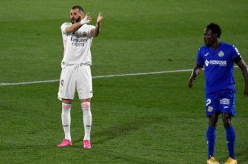 El Real Madrid empata sin goles en Getafe, el Atlético más líder