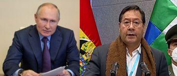 Putin habló con Arce y le anunció que hasta junio llegarían las 5,2 millones de vacunas