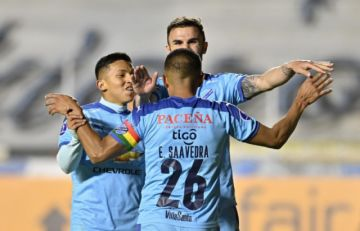 Bolívar se hace respetar en La Paz y vence 2-1 a argentino Arsenal por la Sudamericana
