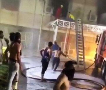 Incendio en hospital para covid-19 deja al menos 82 muertos en Irak