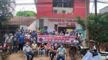 Trabajadores en salud de Beni entran a un paro por falta de sueldos e insumos