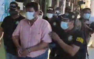Beni: El gobernador Fanor Amapo es enviado a la cárcel por incumplimiento de deberes
