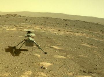 El helicóptero Ingenuity recibe una nueva misión en Marte