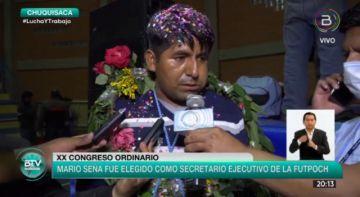 Mario Seña, elegido como nuevo secretario ejecutivo de la Futpoch