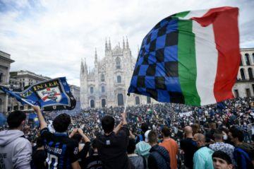 El Inter se corona campeón de Italia y pone fin al reinado récord de la Juventus