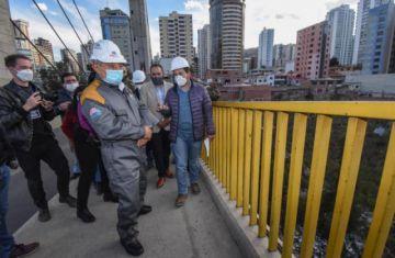 Arias anuncia que se pondrá un enmallado en el Puente de las Américas