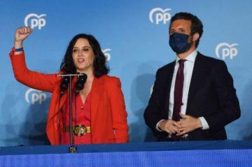 España: La derecha triunfa en elecciones regionales madrileñas, un bofetón para Sánchez