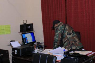 Felcn cierra operativo en Gobernación de Chuquisaca sin encontrar sustancias controladas