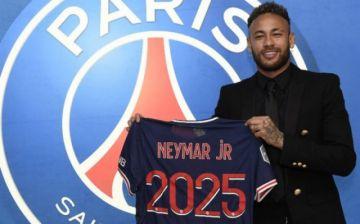 Neymar y PSG renuevan su idilio hasta 2025